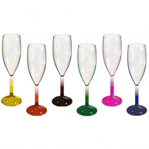 Colored Glass Set- 902 (Unbreakable)