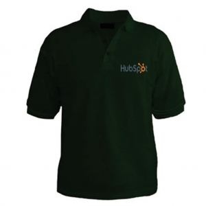 Customized Collar Tshirt (D. Green)