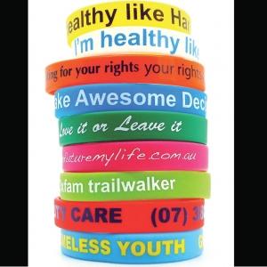 Customized Logo Wristbands