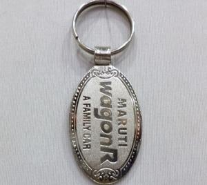 Logo Metal Keychain 4