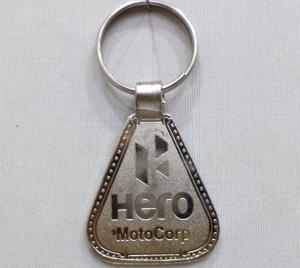 Logo Metal Keychain 8