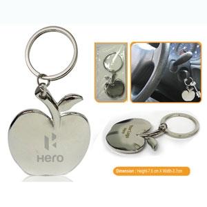 Metal Keychain (Apple) 0501