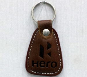 Customized Leather Keychain- 908