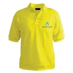 Customized Collar Tshirt (Yellow)