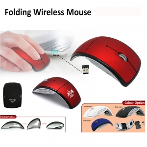 Customized Wireless Foldable Mouse