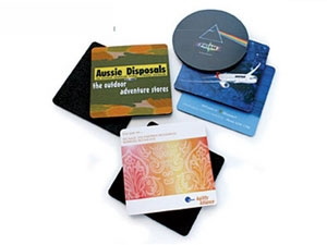 Promotional Rubber based Coasters 2