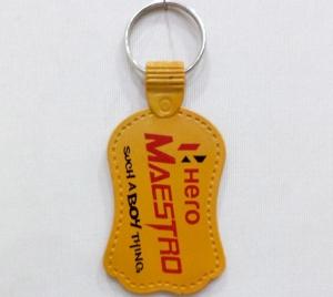 Logo Printed Keychain 2