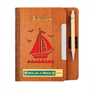 Customized Wooden Diary- 904