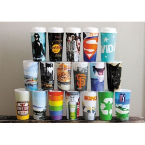 Customized Jolly Cups