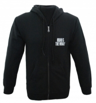 Customized Zipper Hoodie (Black)