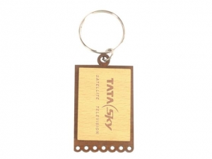 Customized Wooden Keychain- 917