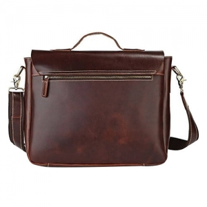Customised Leather Laptop Bag- 909