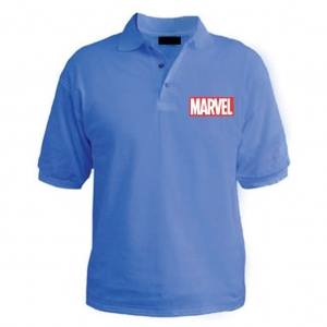 Customized Collar Tshirt (Sky Blue)