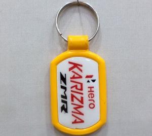 Logo Plastic Case Keychain- 5