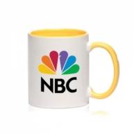 Customized Mug -Color Inside & Handle Color Mug (Yellow)