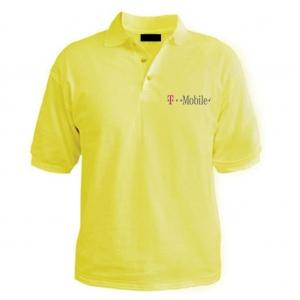 Customized Collar Tshirt (L. Yellow)