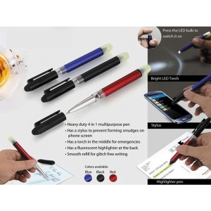 Customized 4 in 1 Pen (NB91039)