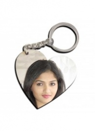Photo Keychain (Heart)