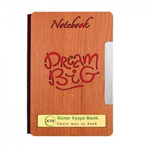 Customized Wooden Diary- 910