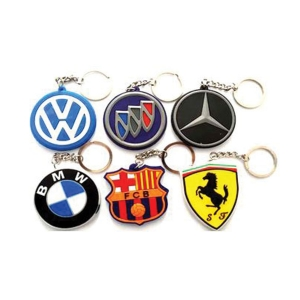 Promotional Logo Rubber Keychain- 903