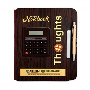 Customized Wooden Diary- 907