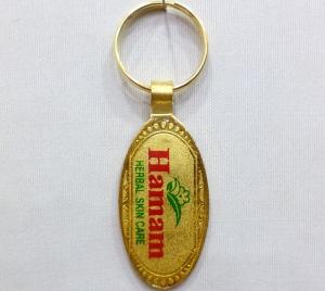 Logo Metal Keychain 16