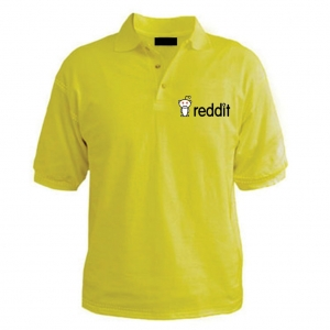 Customized Collar Tshirt (Lime Yellow)