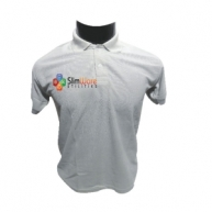 Customized Multicolor Polo Tshirt (Light Grey)