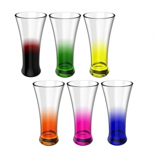 Colored Glass Set- 901 (Unbreakable)