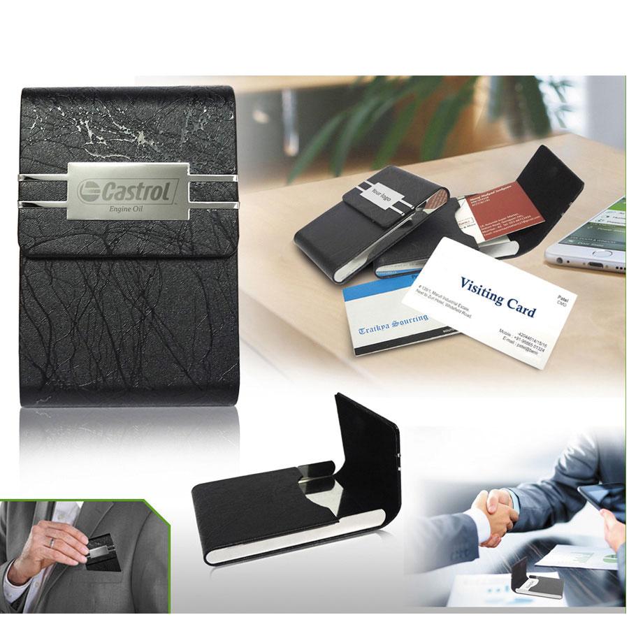 Customized Card Holder- 911289 - Customized Diaries & Organizers ...
