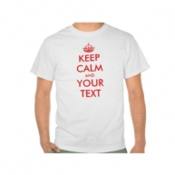 Customized Keep Calm Tshirt