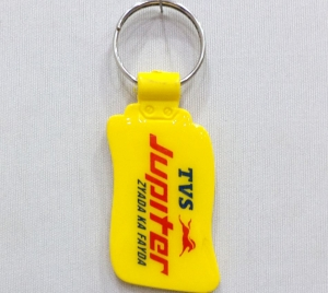 Customized Plastic Keychain-10