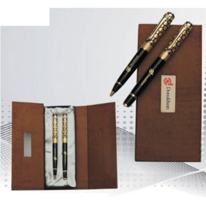 Customized Pen Set (Brown- 906)