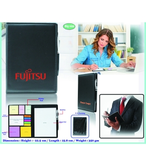 Customised Note Pad With Sticky Notes & Pen- 98169