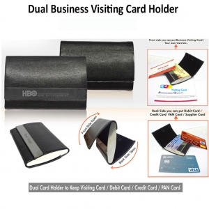 Customized Dual Card Holder (9H-91123)