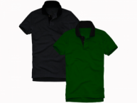 Contrast Polo Tshirt 2