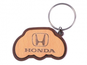 Customized Wooden Keychain- 916