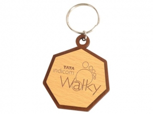 Customized Wooden Keychain- 905