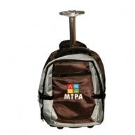 Customized Laptop Backpack with Trolley 1