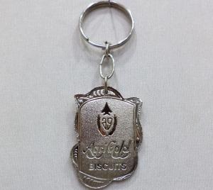 Logo Metal Keychain 10