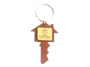 Customized Wooden Keychain- 919