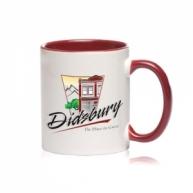 Customized Mug -Color Inside & Handle Color Mug (MAROON)