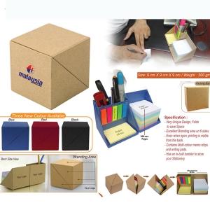 Customised Eco Friendly Notepad & Stationery Holder