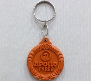 Logo Hard Plastic Keychain 1