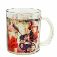 Photo/Logo Transparent Mug