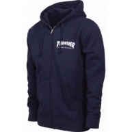 Customised Zipper Hoodie (Navy Blue)