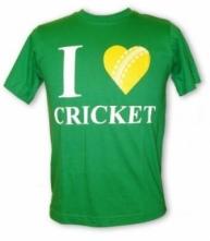 I Love Cricket Tee