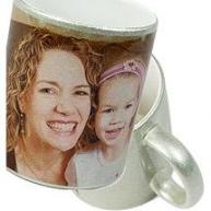 Glitter Mug (Silver)