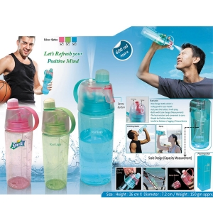 Customized Spray Sipper Bottle 90459