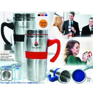 Customized Steel Sipper Mug- 97059